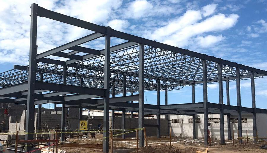 Instalación de estructuras metalicas nuevo laredo